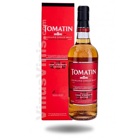 Whisky Tomatin Cask Strength Edition