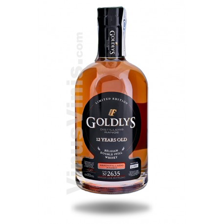 Whisky Goldlys 12 ans Amontillado Cask Finish
