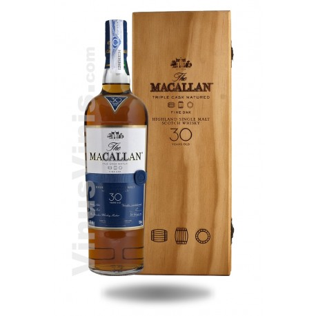Whisky The Macallan 30 años Fine Oak
