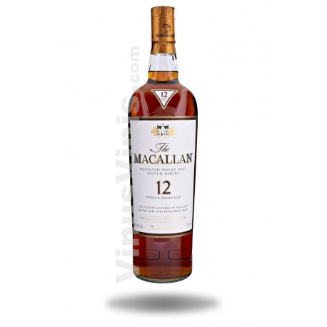 Whisky The Macallan 12 años Sherry Oak (1.75L)
