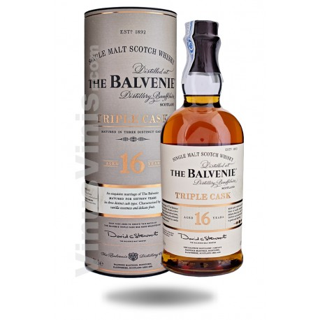 Whisky The Balvenie 16 años Triple Cask