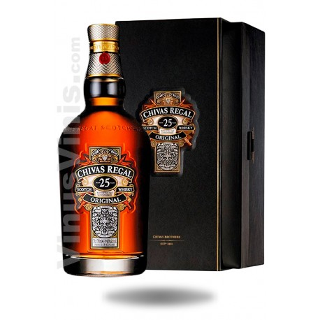 Whisky Chivas Regal 25 añosWhisky Chivas Regal 25 añosWhisky Chivas Regal 25 anni