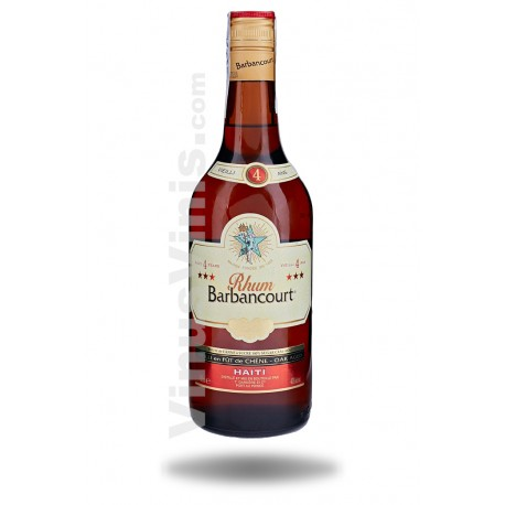 Rum Barbancourt 3 Star 4 Year Old