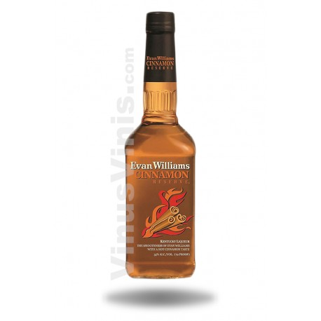 Whiskey Evan Williams Cinnamon Reserve
