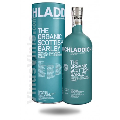 Whisky Bruichladdich The Organic Scottish Barley