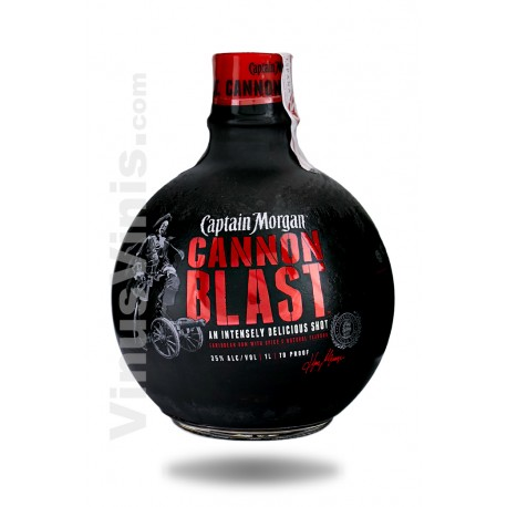 Rhum Captain Morgan Cannon Blast (1L)