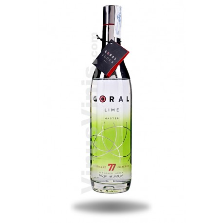 Vodka Goral Master Lime
