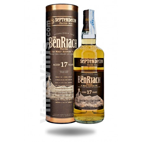 Whisky The Benriach 17 años Septendecim