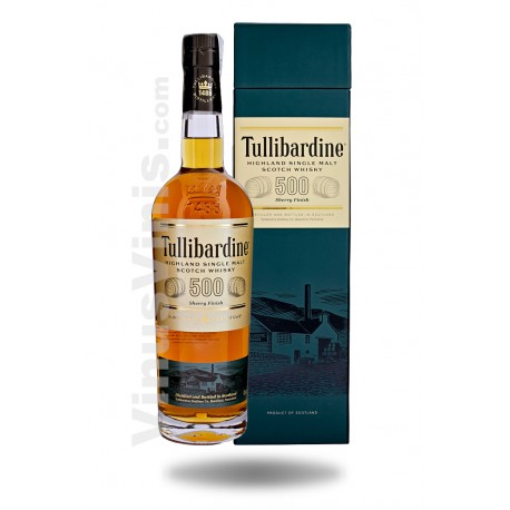 Whisky Tullibardine 500 Sherry Finish
