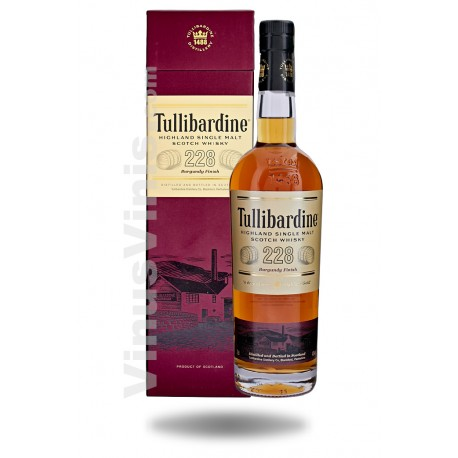 Whisky Tullibardine 228 Burgundy Finish