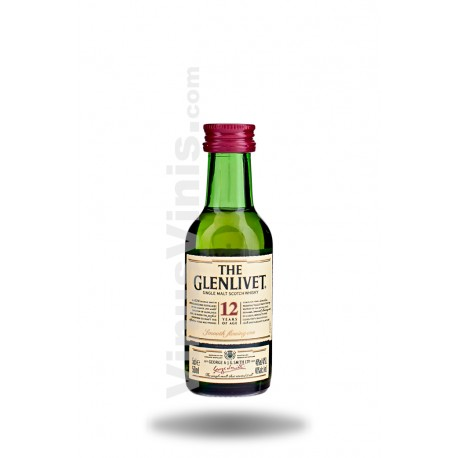 Whisky The Glenlivet 12 años (5cl)
