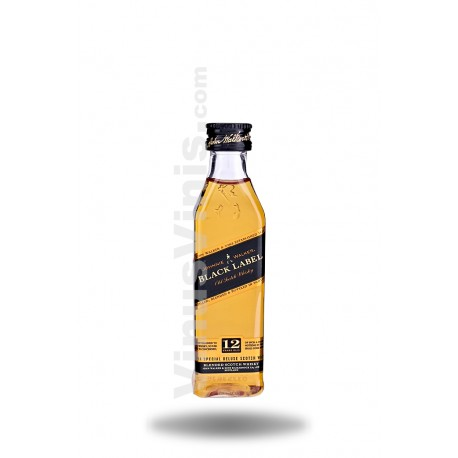 Whisky Johnnie Walker Black Label 12 años (5cl)