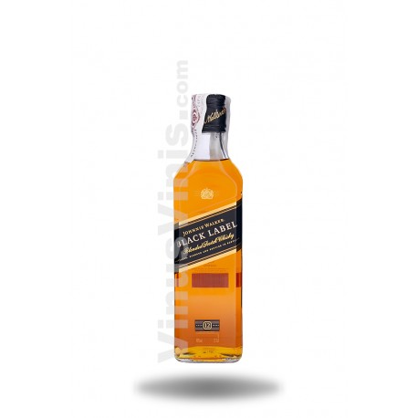Whisky Johnnie Walker Black Label 12 años (37.5cl)