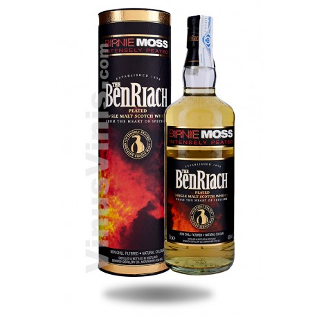 Whisky The BenRiach Birnie Moss Intensely Peated