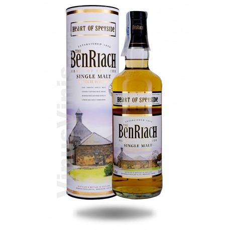 Whisky The BenRiach Heart of Speyside