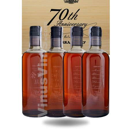 Whisky Nikka 70th Anniversary Selection