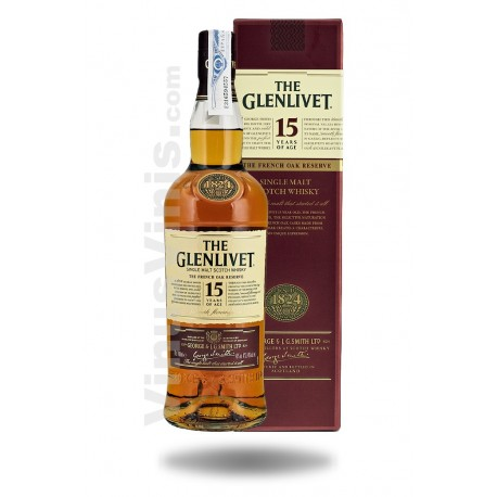 Whisky The Glenlivet 15 ans (1L)