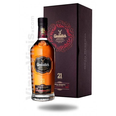 Whisky Glenfiddich 21 years Gran Reserva