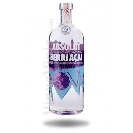 Vodka Absolut Berri Açai (1L)