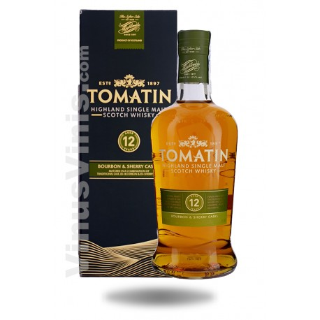Whisky Tomatin 12 Years Old