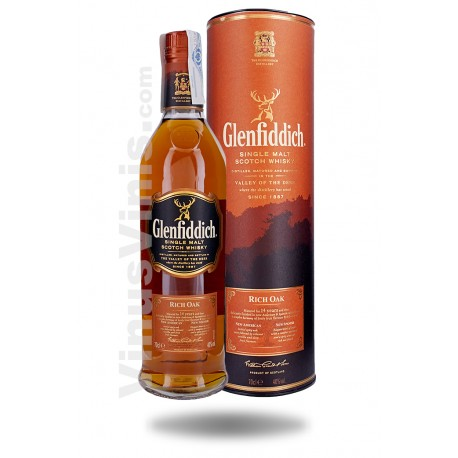 Whisky Glenfiddich 14 años Rich Oak