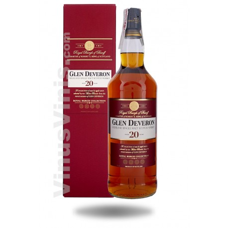 Whisky Glen Deveron 20 ans - Royal Burgh Collection (1L)