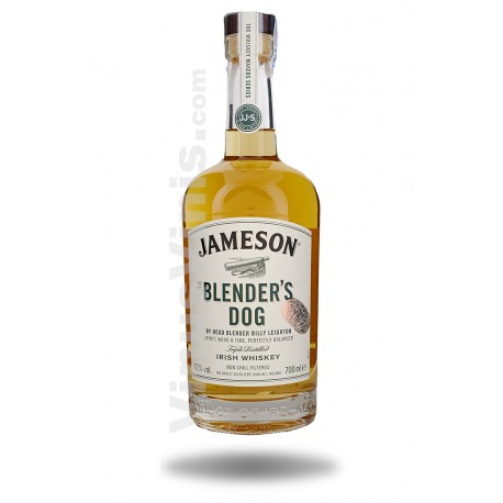 Whiskey Jameson The Blender's Dog