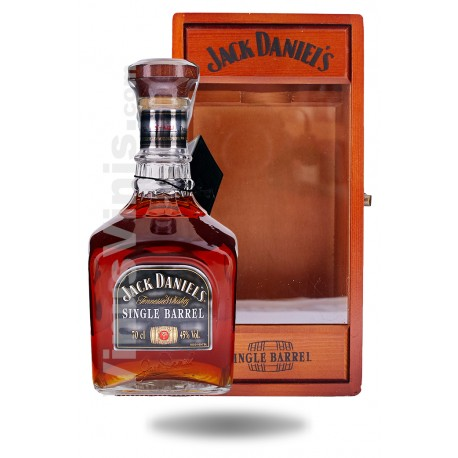 Whiskey Jack Daniel's Single Barrel (boite en bois)