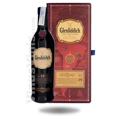 Whisky Glenfiddich 19 años Age of Discovery Red Wine Finish