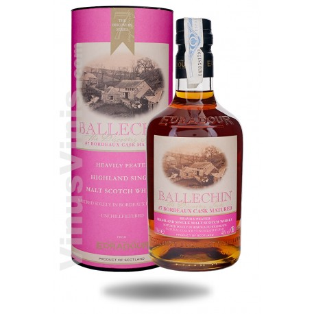 Whisky Edradour Ballechin 7 Bordeaux Cask Matured