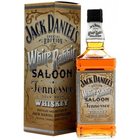 Whiskey Jack Daniel's White Rabbit Saloon 120th Anniversary