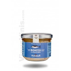 Agromar White Tuna in Olive Oil Glass Bottle