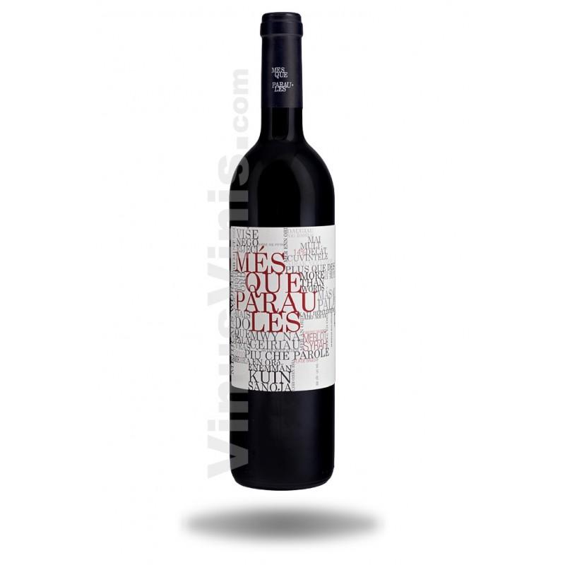 Comprar vino m s que paraules 2015 en tu tienda de vino vinus vinis - Mes que paraules tinto ...