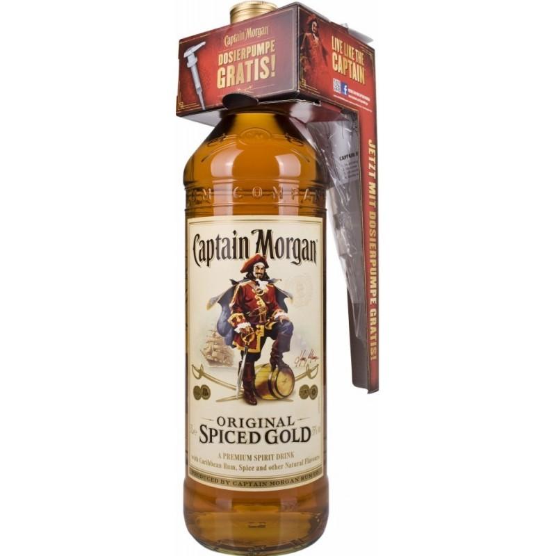 Buy Rum Captain Morgan Spiced Gold 3l In Vinus Vinis