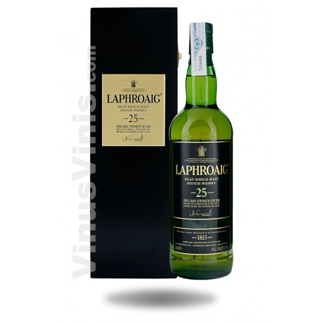 Whisky Laphroaig 25 ans Cask Strength Edition 2015