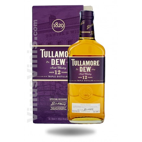 Whiskey Tullamore Dew 12 años Special Reserve