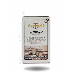 Agromar White Tuna Fillets in Olive Oil Ov-120
