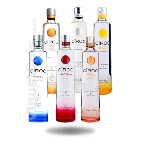 Pack Vodka Ciroc Flavors