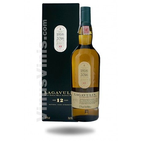Whisky Lagavulin 12 ans 200th Anniversary 2016