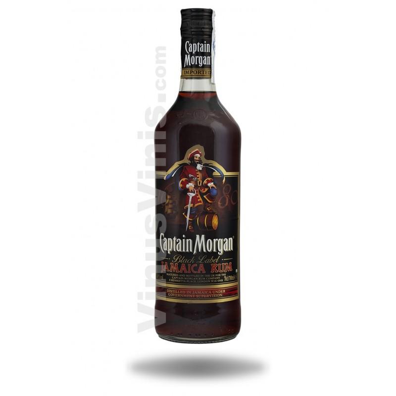 Buy Rum Captain Morgan Black Label In Vinus Vinis