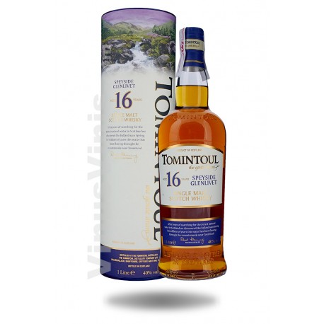 Whisky Tomintoul 16 ans (1L)