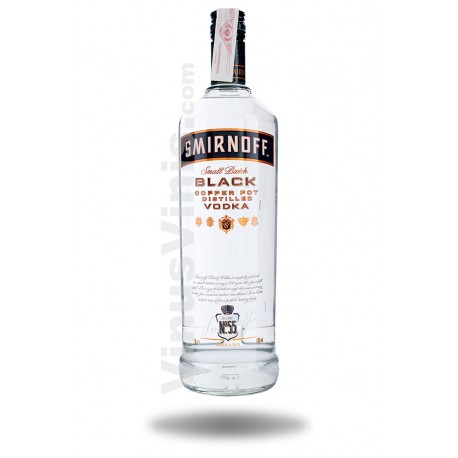 Vodka Smirnoff Black Copper Pot (1L)