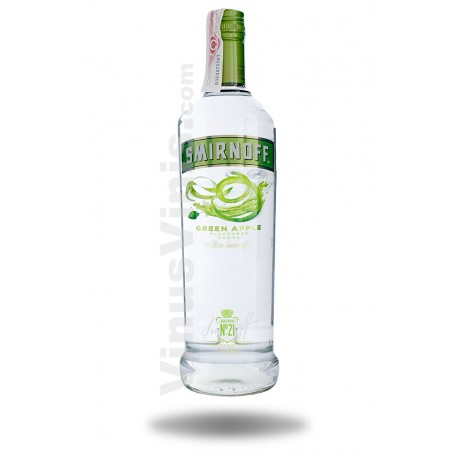 Vodka Smirnoff Green Apple (1L)