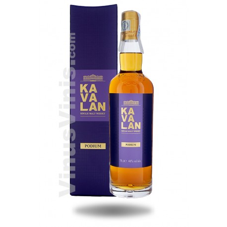 Whisky Kavalan Podium