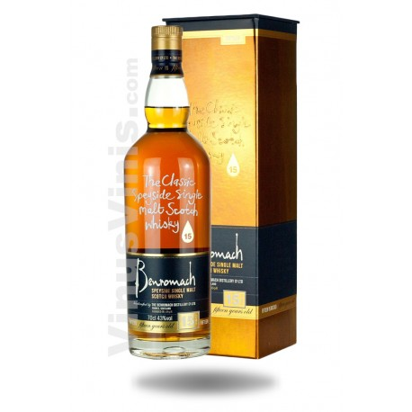 Whisky Benromach 15 ans