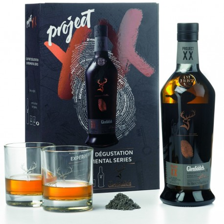 Whisky Glenfiddich Experimental Series - Project XX (caja de degustación)