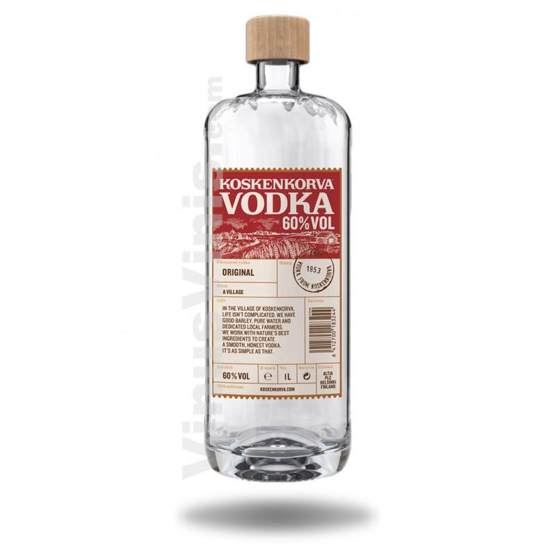 Buy Vodka Koskenkorva 60 (1L) in Vinus Vinis