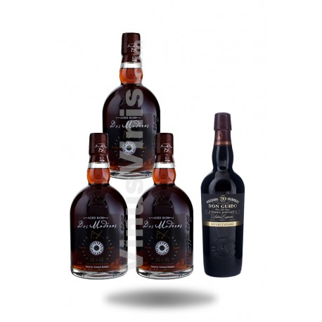 Pack Rhum Dos Maderas PX 5+5 + Don Guido PX 20 ans
