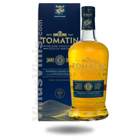 Whisky Tomatin 8 años (1L)