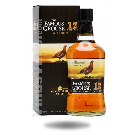 Whisky The Famous Grouse Gold Reserve 12 ans (1L)